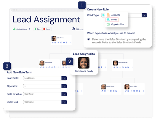 A screenshot of the Veloxity platform, a new CRM for lead assignment so you never forget to follow-up.